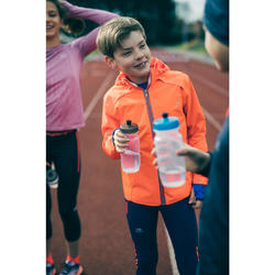 Regenjasje voor atletiek kinderen rood/blauw