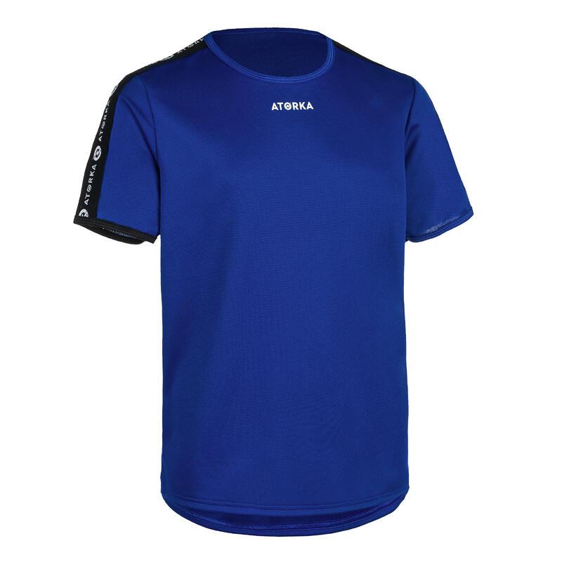 Handbalshirt voor kinderen H100 marineblauw