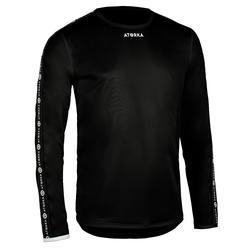 Handbalshirt heren H100C met lange mouwen zwart