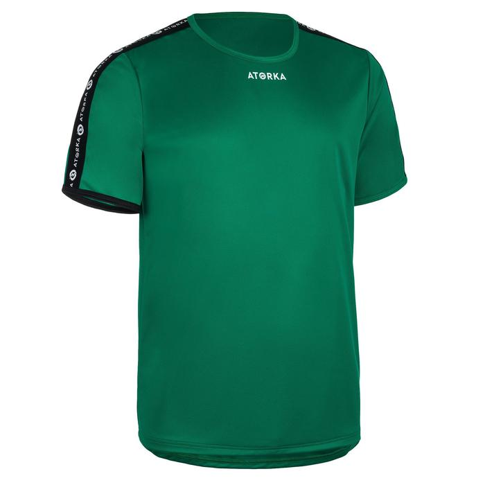 Maillot manches courtes de handball homme H100C vert