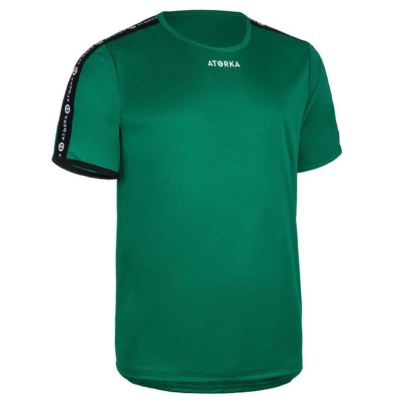Camiseta Balonmano Atorka H100C hombre verde