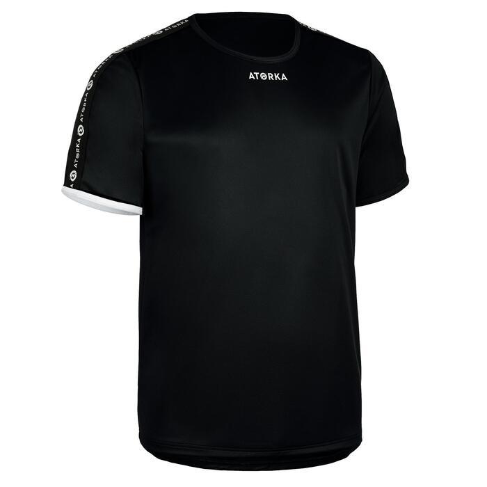 Maillot de handball enfant H100 noir