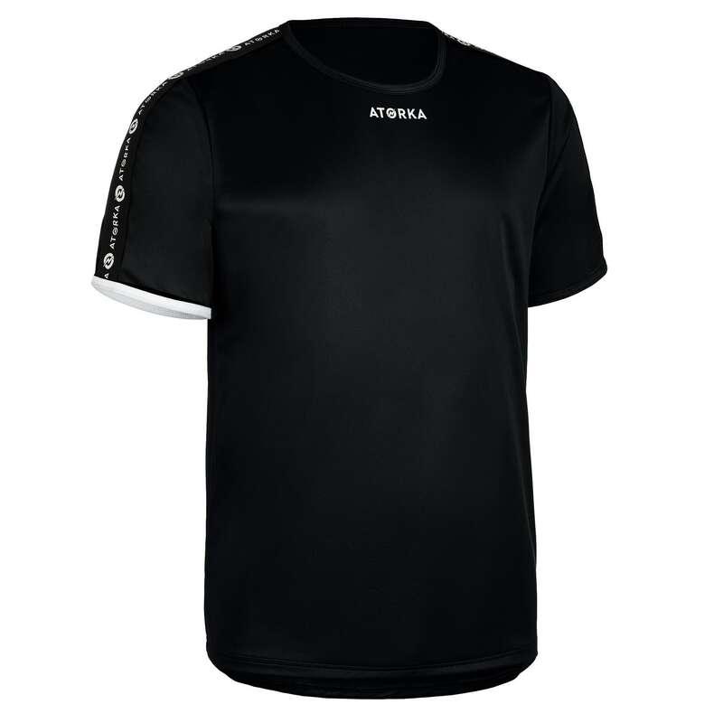 KLÄDER SKOR HANDBOLL HERR Lagsport - T-shirt H100C herr svart ATORKA - Handboll