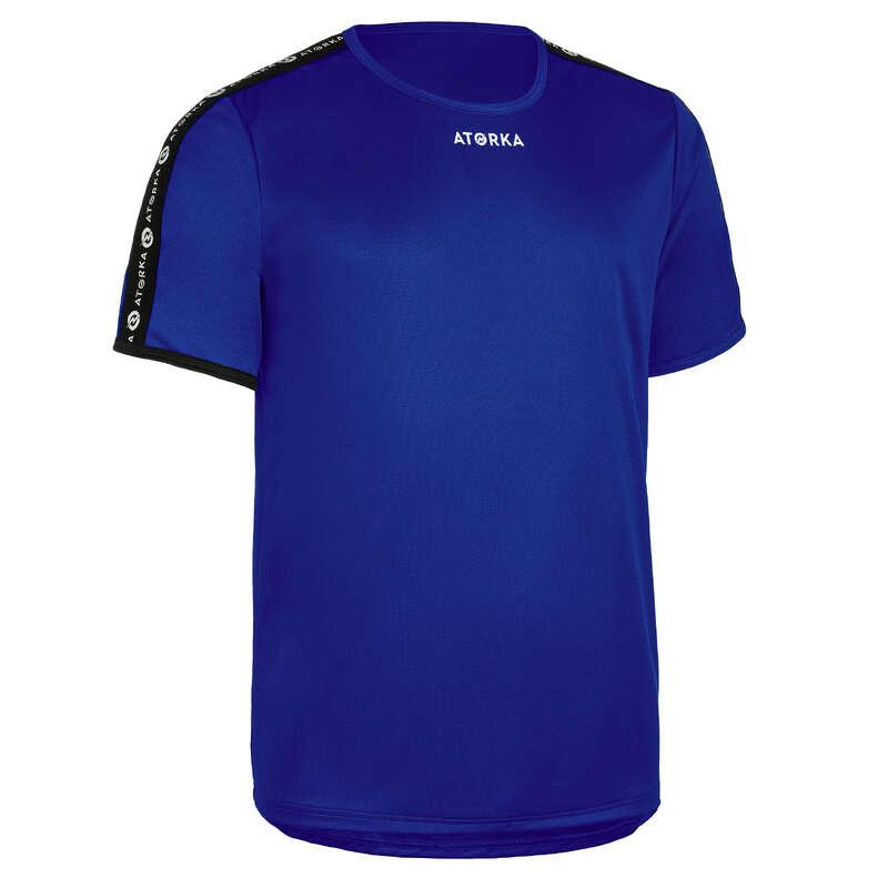 Férfi kézilabda ruházat, cipő USA csapatsportok, rögbi, floorball - Férfi mez kézilabdához H100C ATORKA - Floorball