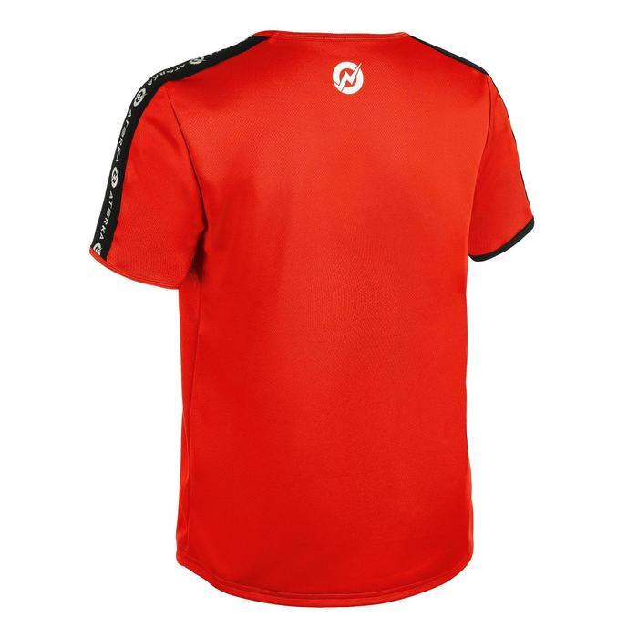 Handballtrikot H100 kurzarm Kinder rot