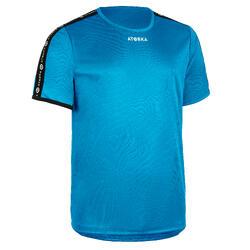 Handbalshirt voor kinderen H100 blauw