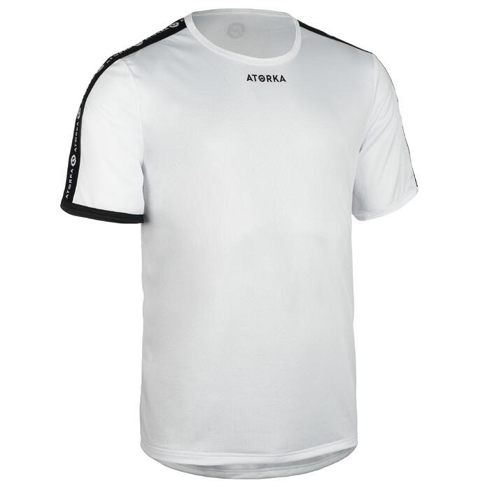 Handballtrikot Kurzarm H100C Herren weiß