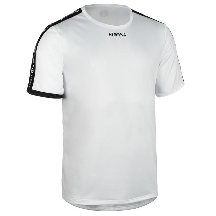Maillot manches courtes de handball homme H100C blanc