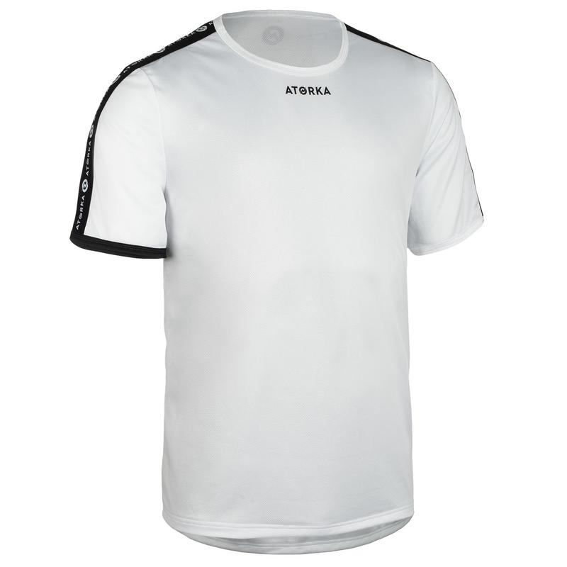 Camiseta Balonmano Atorka H100C hombre blanco