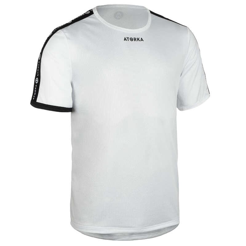 KLÄDER SKOR HANDBOLL HERR Lagsport - T-shirt H100C herr vit ATORKA - Handboll