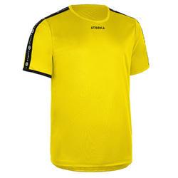 Handballtrikot H100C kurzarm Kinder gelb
