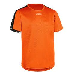 Camisola de Andebol criança H100 laranja
