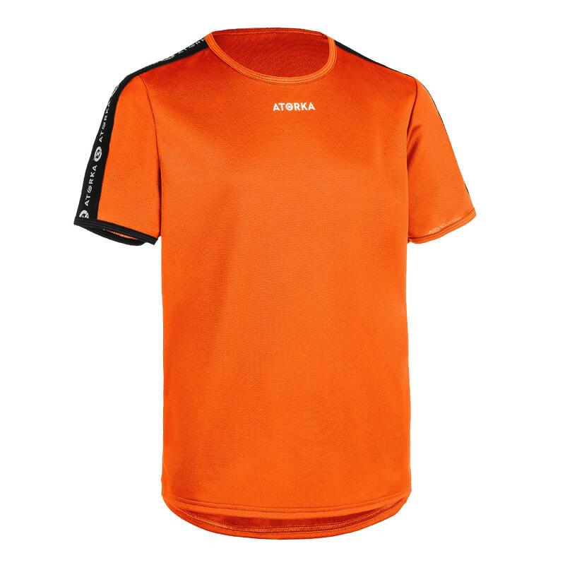 Camiseta de Balonmano Atorka H100C Niños naranja
