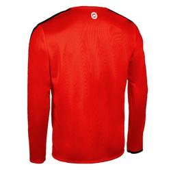 Handbalshirt met lange mouwen heren H100C rood