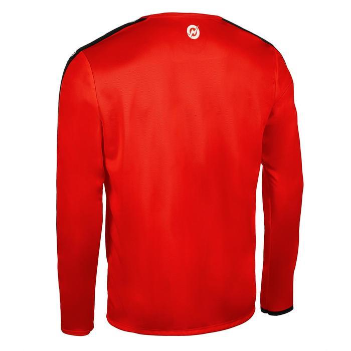 Maillot manche longue de handball homme H100C rouge