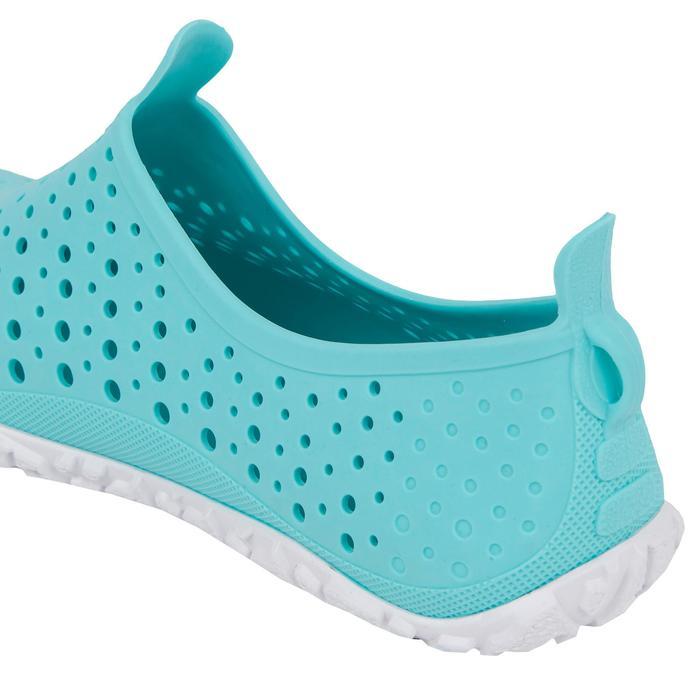 Waterschoenen voor aquagym aquabike aquafitness Aquadots turquoise