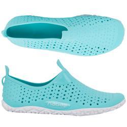Schoentjes voor aquagym/aquabike/aquafitness Aquadots new groen