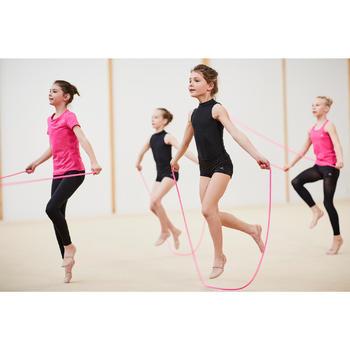Touw voor ritmische gymnastiek 3 meter roze