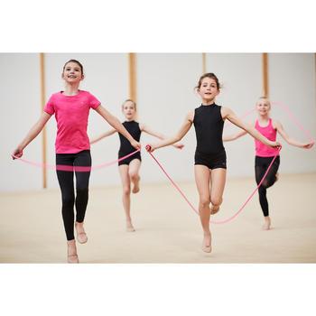 Touw voor ritmische gymnastiek 115 g 3 meter roze