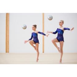 Gymnastikball 185mm silber