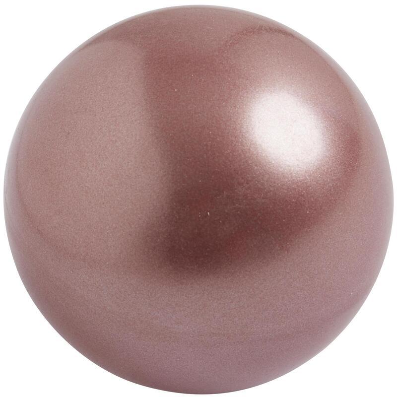 18.5 cm FIG-Approved Rhythmic Gymnastics Ball - Gold/Pink