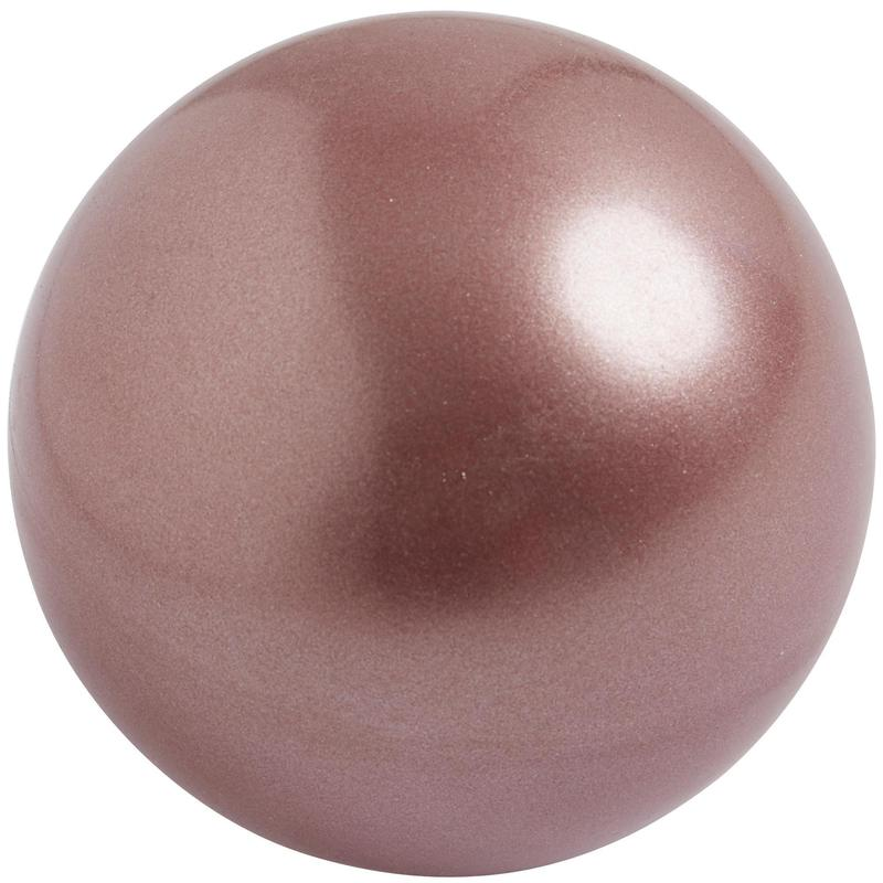 Ballon de Gymnastique Rythmique (GR) 18,5 cm Or Rosé (homologué FIG)
