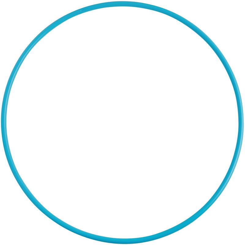Cerc Gimnastică Ritmică 85 cm Turcoaz