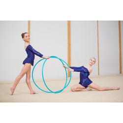 Cerceau de Gymnastique Rythmique (GR) de 85 cm Turquoise