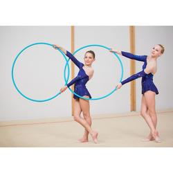 Hoepel voor ritmische gymnastiek 85 cm turquoise