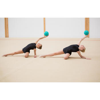 Ballon de Gymnastique Rythmique de 165 mm Émeraude Pailleté