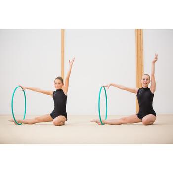 Hoepel voor ritmische gymnastiek 65 cm smaragdgroen
