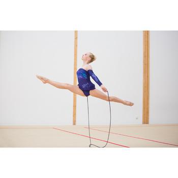 Corde de Gymnastique Rythmique (GR) de 3 mètres Noir pailleté
