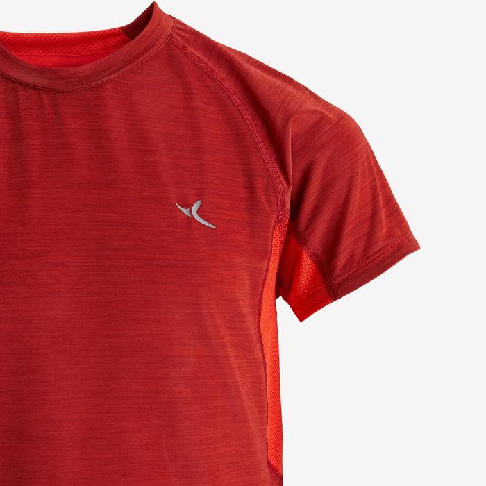 T-Shirt atmungsaktiv kurzarm S900 GYM Kinder rot