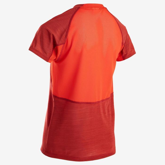 T-Shirt respirant manches courtes S900 garçon GYM ENFANT rouge