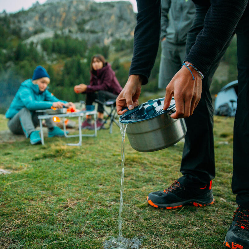 Proper camp cooking