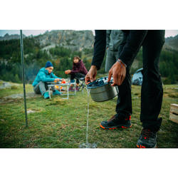 Hiker's camp MH500 stainless + anti-stick coating 2 people 2.1L