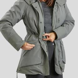 Women's Snow Hiking Jacket SH500 Ultra-Warm - Khaki