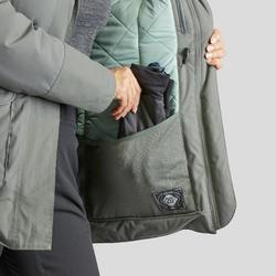Winterjas dames SH500 ultra-warm kaki