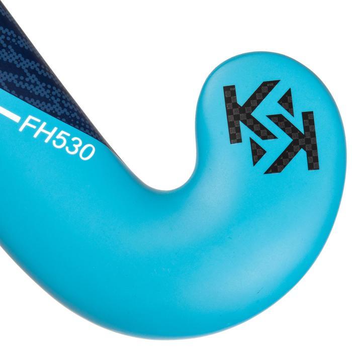 Hockeystick voor gevorderde volwassenen low bow 30% carbon FH530