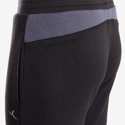Warm en ademend synthetisch trainingspak voor jongens S500 zwart grijs