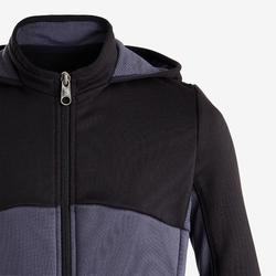 Survêtement chaud, synthétique respirant S500 garçon GYM ENFANT Noir gris