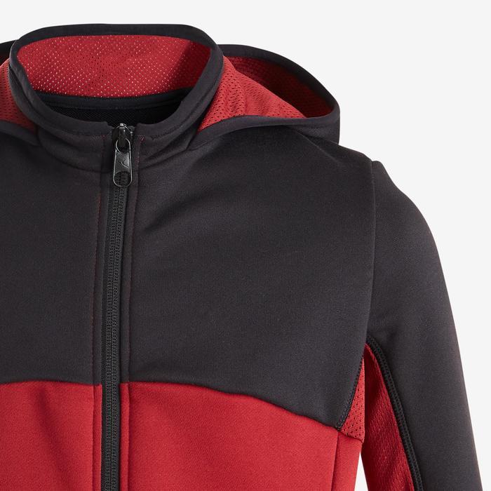Survêtement chaud, synthétique respirant S500 garçon GYM ENFANT Noir rouge