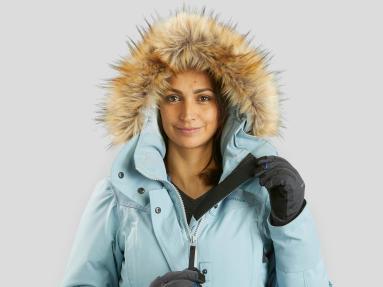 Snow hiking jacket - Longer zip