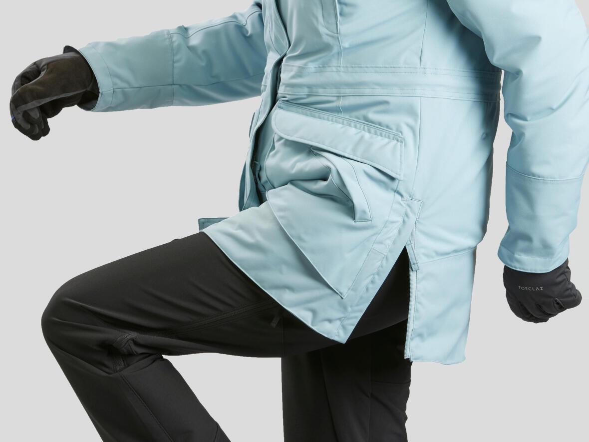 Snow hiking jacket - Hem zip