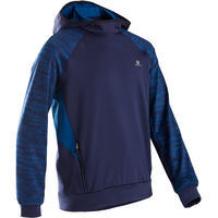 S500 Warm Breathable Synthetic Hoodie Blue - Boys