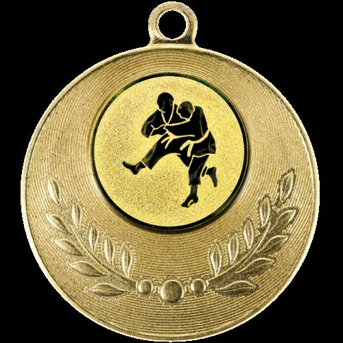 Pastille adhésive ''Judo'' pour récompenses sportives