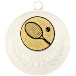 """Pastille adhésive """"Tennis"""" pour récompenses sportives"""
