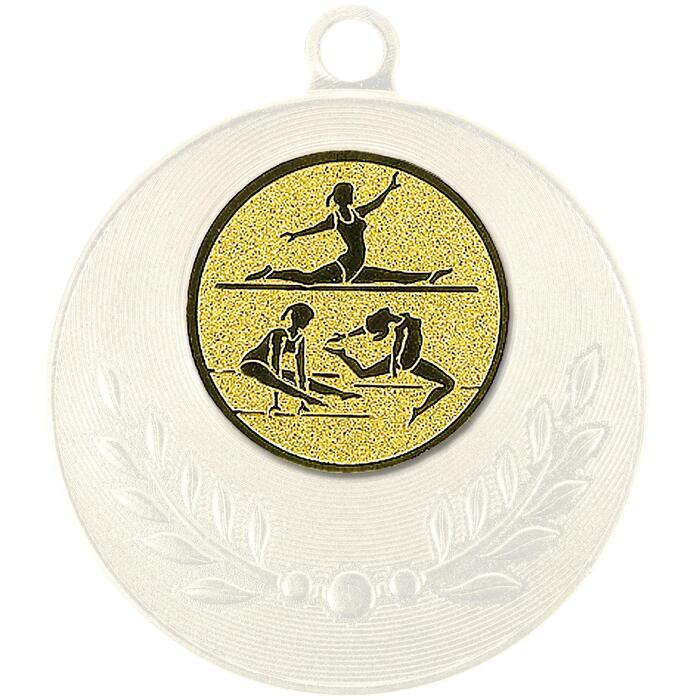 """Pastille adhésive """"Gymnastique"""" pour récompenses sportives"""