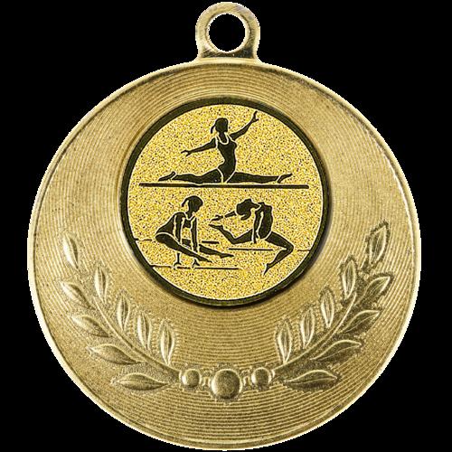 Pastille adhésive ''Gymnastique'' pour récompenses sportives