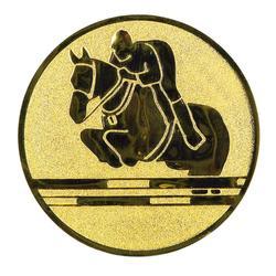 """Pastille adhésive """"Equitation"""" pour récompenses sportives"""